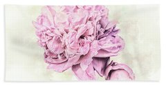 10861 Spring Peony Beach Sheet by Pamela Williams