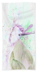 10864 Dragon Fly Beach Towel