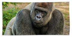 10898 Gorilla Beach Towel by Pamela Williams