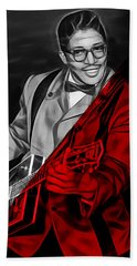 Bo Diddley Collection Beach Sheet by Marvin Blaine