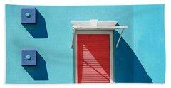 11 O'clock Shadow Beach Sheet by Paul Wear