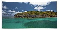 Sea And Clouds Beach Sheet