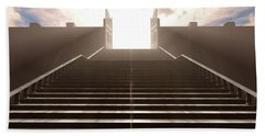 The Stairs To Heavens Gates Beach Towel