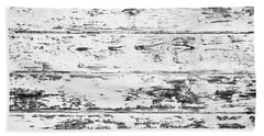 Weathered Wood Beach Towel