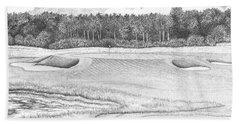 11th Hole - Trump National Golf Club Beach Sheet