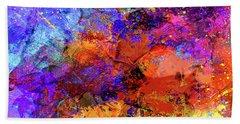 Abstract Composition Beach Sheet by Samiran Sarkar
