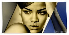 Rihanna Collection Beach Towel by Marvin Blaine
