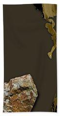 Rock Climber Collection Beach Towel