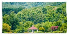 Scenery Around Lake Lure North Carolina Beach Towel by Alex Grichenko