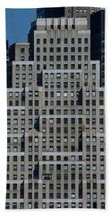 120 Wall Street Nyc Beach Towel