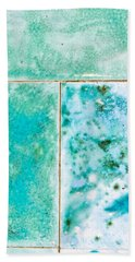 Blue Tiles Beach Towel