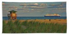 Beach Sheet featuring the photograph 13- Cruising In Paradise by Joseph Keane