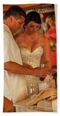 Faulkner Wedding Beach Sheet