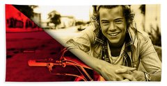 Harry Styles Collection Beach Towel by Marvin Blaine