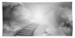 Beach Towel featuring the photograph Stairway To Heaven by Les Cunliffe