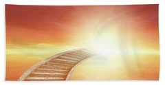 Beach Sheet featuring the photograph Stairway To Heaven by Les Cunliffe