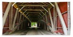143 Feet Of Covered Bridge Beach Sheet