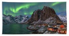 Hamnoy Lofoten - Norway Beach Towel