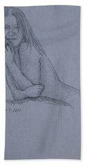 Nude Study Beach Towel