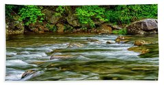 Williams River Spring Beach Towel