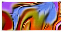 1765 Abstract Thought Beach Towel