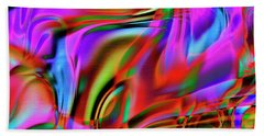 1783 Abstract Thought Beach Towel