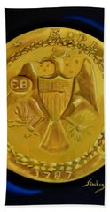 1787 Brasher Doubloon Beach Towel