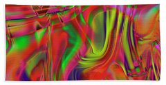 1799 Abstract Thought Beach Towel