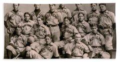1896 Michigan Baseball Team Beach Towel