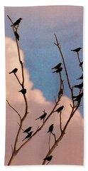 19 Blackbirds Beach Towel