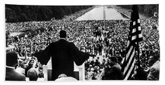 Martin Luther King Jr Beach Towel