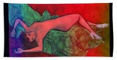 Nude Woman Beach Sheet