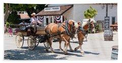 Old Town San Diego Beach Sheet by Carol Ailles