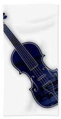 Violin Collection Beach Towel