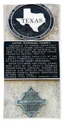 1900 Storm Galveston Beach Towel