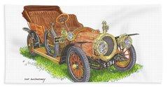 1911 Delaunay Belleville Open Tourer Beach Sheet by Jack Pumphrey