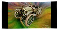 1912 Moon 30 Raceabout Beach Towel