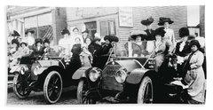 1914 Ladies Road Trip Beach Towel