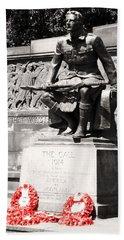 1914 The Call Beach Towel by Martina Fagan