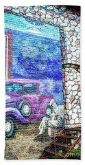 1920's Jazz Era Mural #6 Beach Sheet
