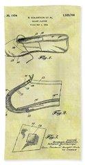 1924 Ballet Slipper Beach Towel