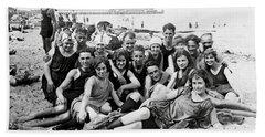 1925 Beach Party Beach Sheet