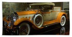 1929 Packard Beach Towel