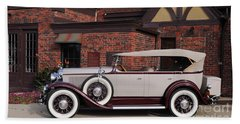 1930 Buick Phaeton Beach Towel