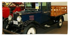 1930 Chevrolet Stake Bed Truck Beach Towel