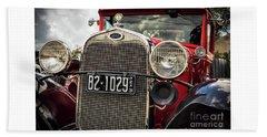 1931 Ford Pu Details Beach Towel