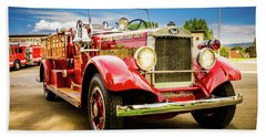 1931 Mack - Heber Valley Fire Dept. Beach Towel