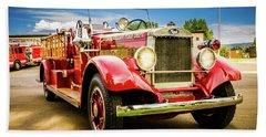 1931 Mack - Heber Valley Fire Dept. Beach Towel