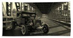 1931 Nash Coupe Rat Rod Beach Sheet