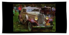 1932 Packard 900 Beach Towel